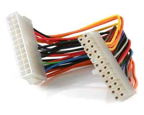 Buy CNCT SMPS 24 PIN EXTENSION IN 0.20M - ATX 24 pin male to female ...