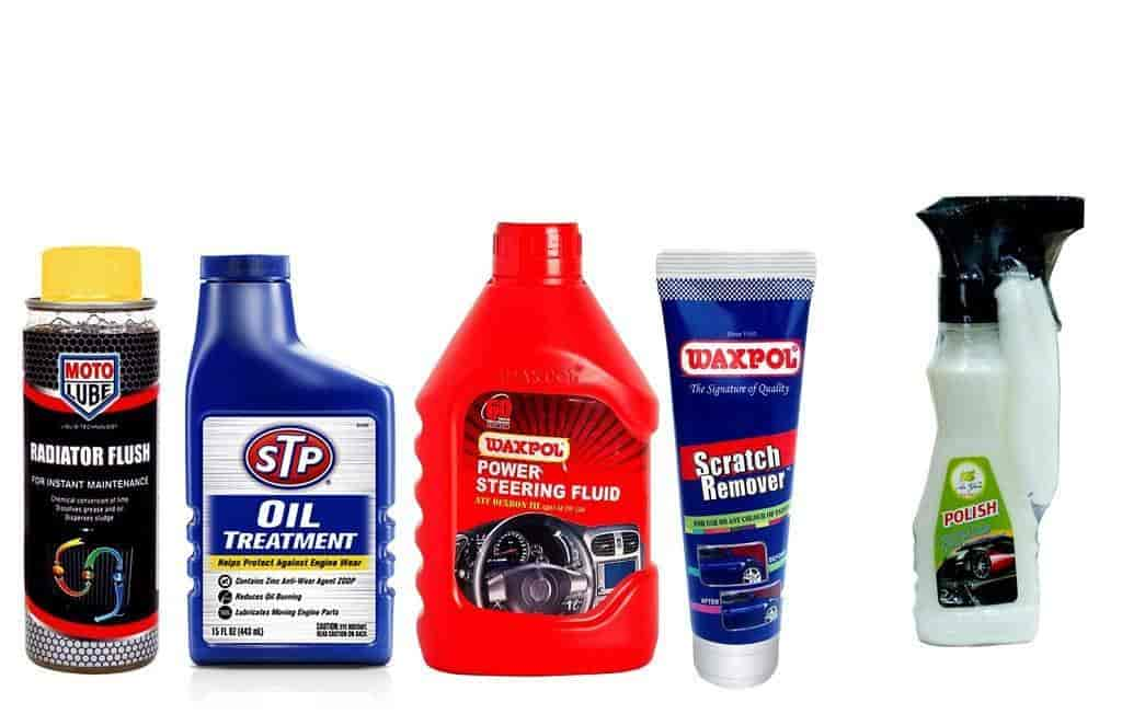 Buy Combo of 5 Items - Moto Lube Radiator Flush 300 ml
