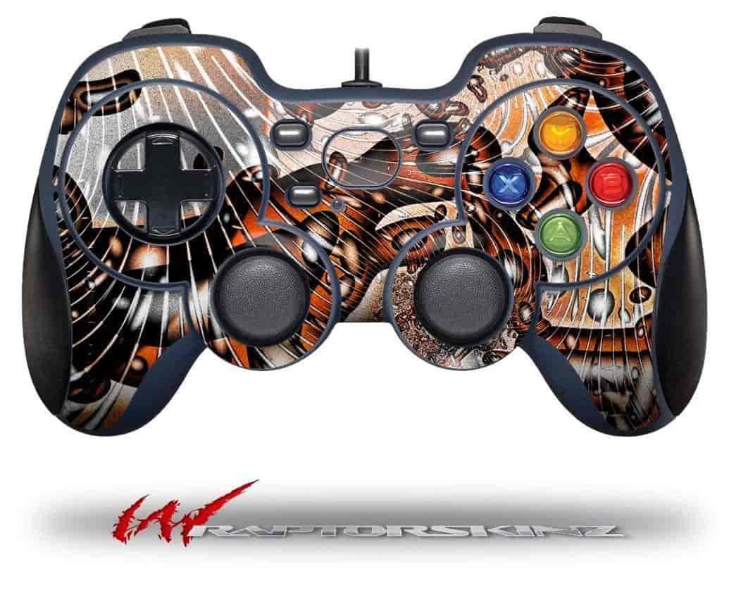 Comic-Decal-Style-Skin-fits-Logitech-F310-Gamepad-Controller-(CONTROLLER-SOLD-SEPARATELY)