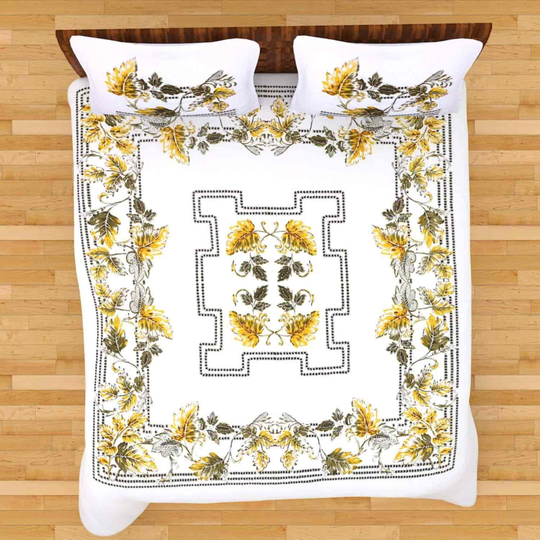 Cot Prints Letto 100% Cotton U0027Extra Largeu0027 Bed Sheet Set (100 X