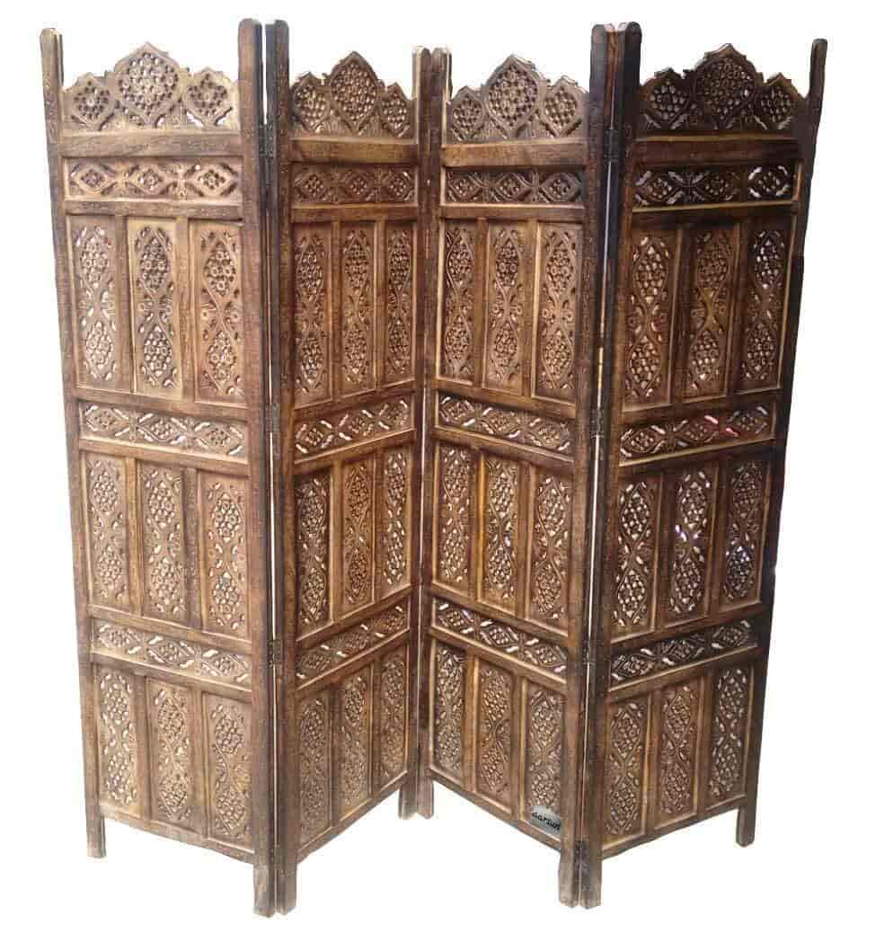 Buy Crafts A To Z Wooden Partition Room Divider Wooden
