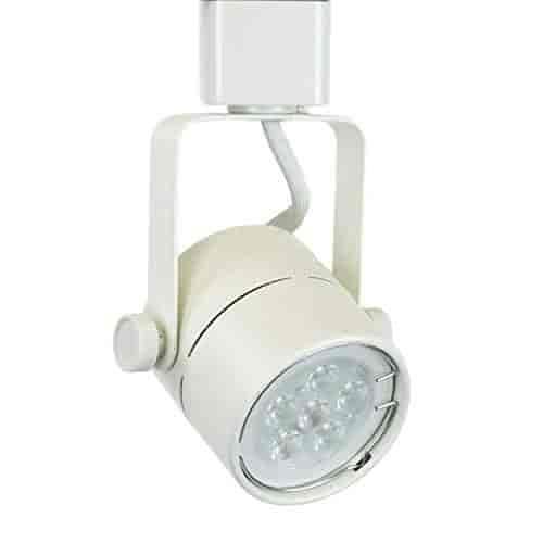 Buy direct lighting 50154l white gu10 led track lighting head with direct lighting 50154l white gu10 led track lighting head with 75w led bulb aloadofball Images