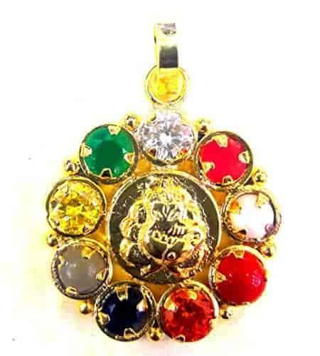 Divya-Shakti-100-Original-Navgrah-Navratan-Navratna-Locket-Pendant-AAA-Quality-(-Religious-item-)