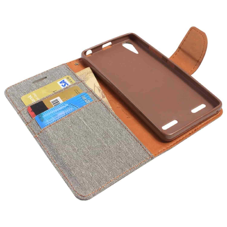 Buy Dmg Mercury Goospery Canvas Diary Wallet Folio Book Cover For Samsung Galaxy S6 Case Black Lenovo A6000 Grey 35