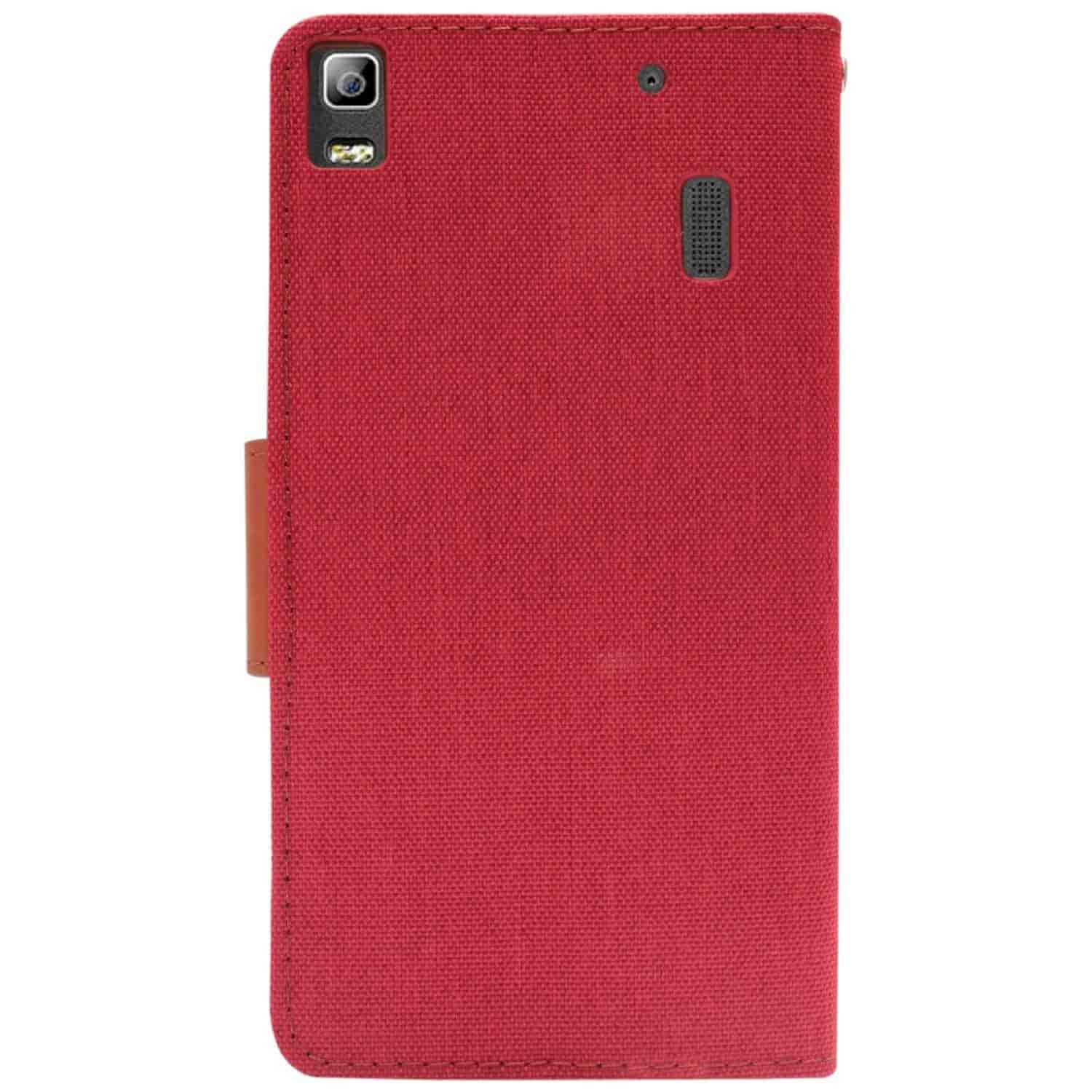 Buy Dmg Mercury Goospery Canvas Diary Wallet Folio Book Cover For Xiaomi Note 2 Case Red Lenovo K3
