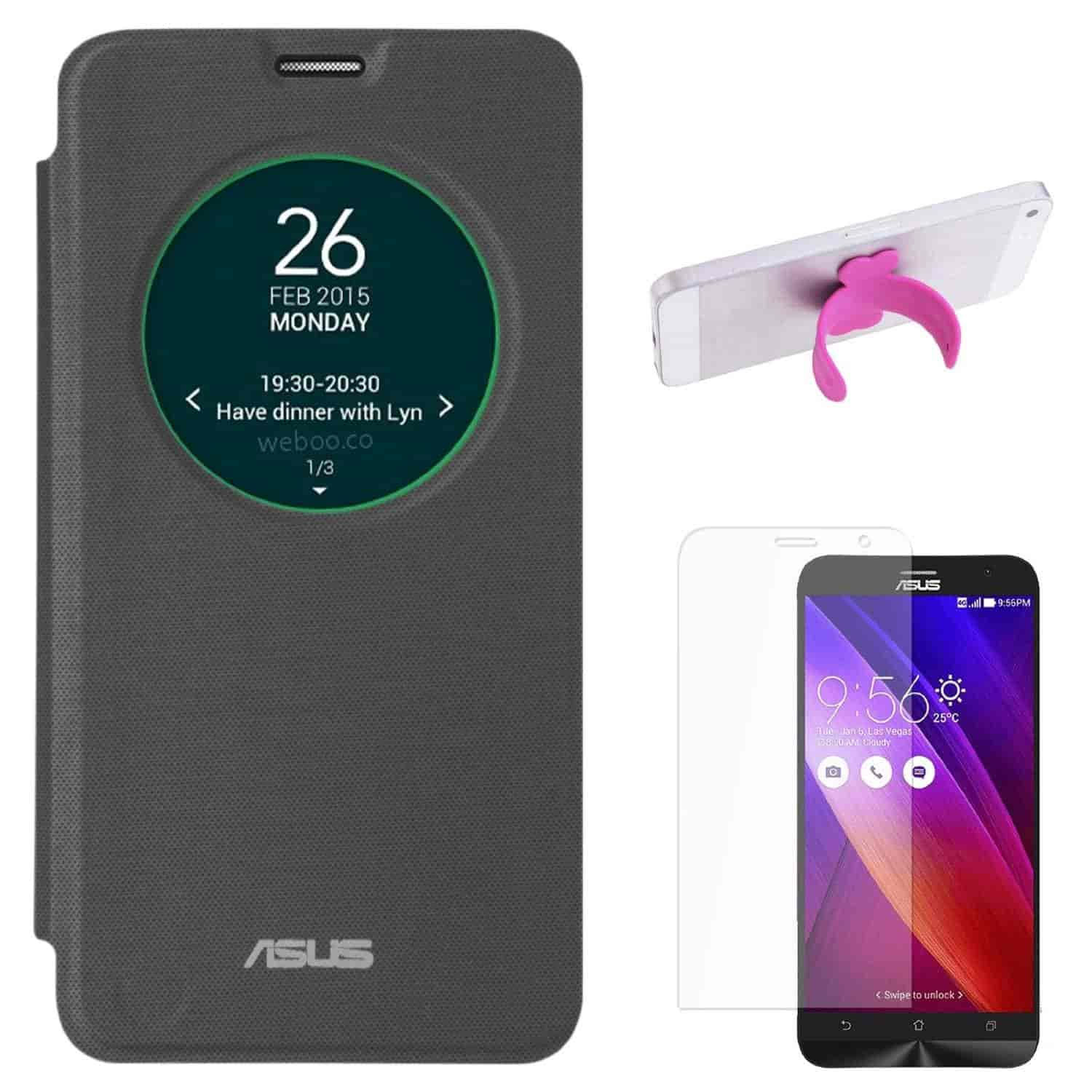 Buy DMG Smart Circle View Flip Book Cover Case For Asus
