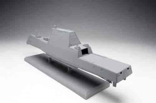Dragon-Models-U-S-S-Zumwalt-Class-Destroyer-DDG-1000-Black-Label-Series-Kit-(1-700-Scale)