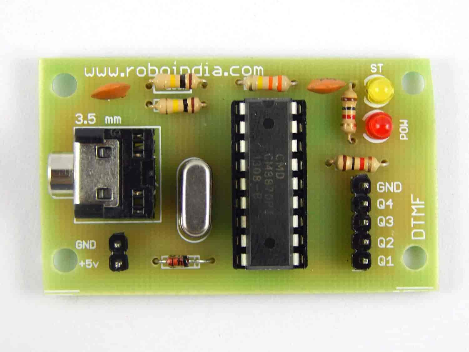 Buy Dtmf Module Mt8870 Decoder With Auxiliary Cable Features Phone