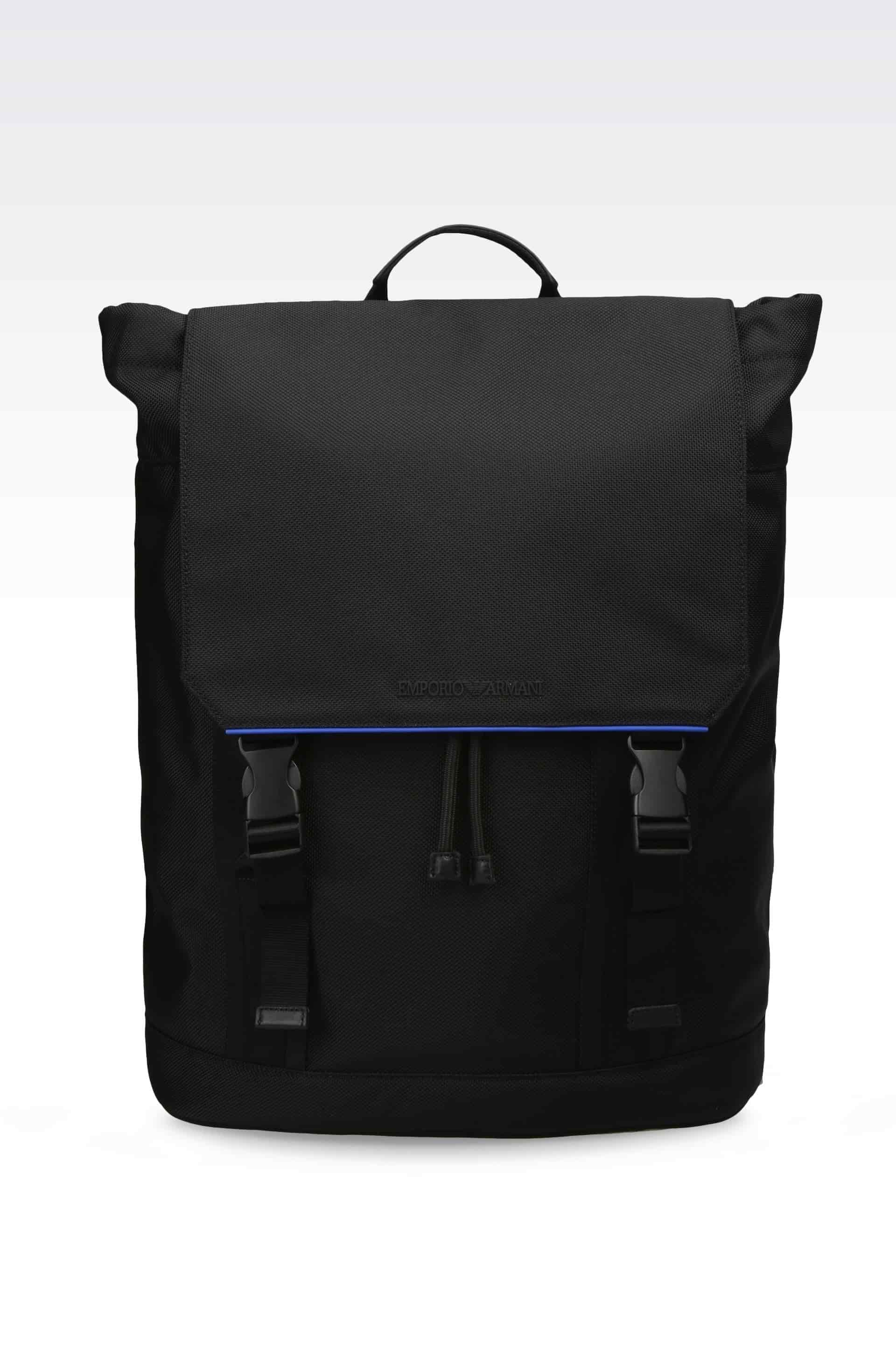 Buy Emporio Armani Men Nylon Backpack Black  Y4O098YO19K8000180001 ... af545e8f2e