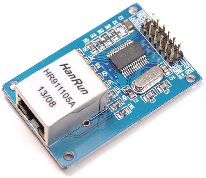 Ethernet-LAN-Module-ENC28J60-Network-RJ45-SPI-Arduino-UNO-2560-AVR-ARM-PIC