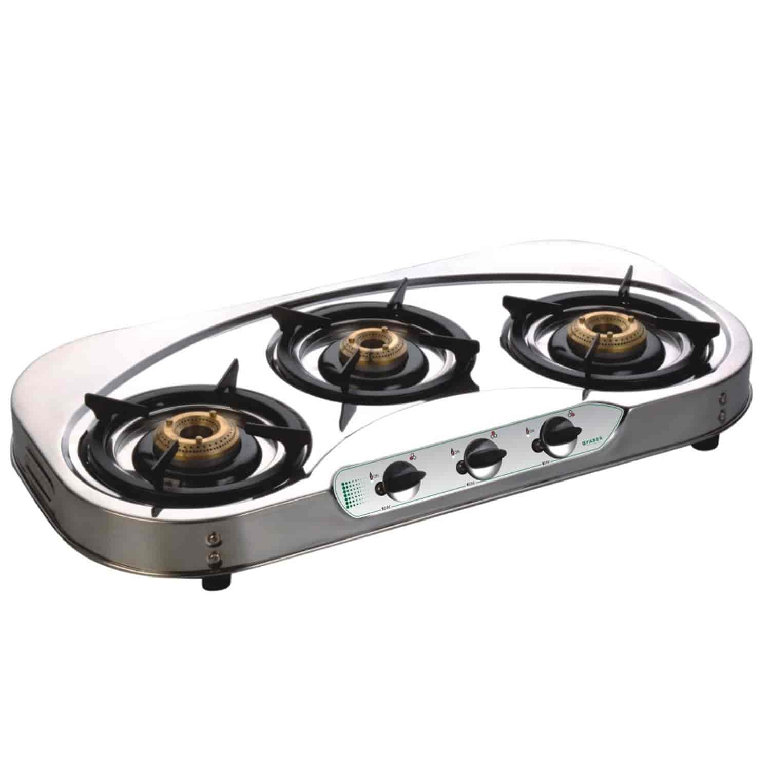 Faber Curvy 3B SS Stainless Steel Cooktop