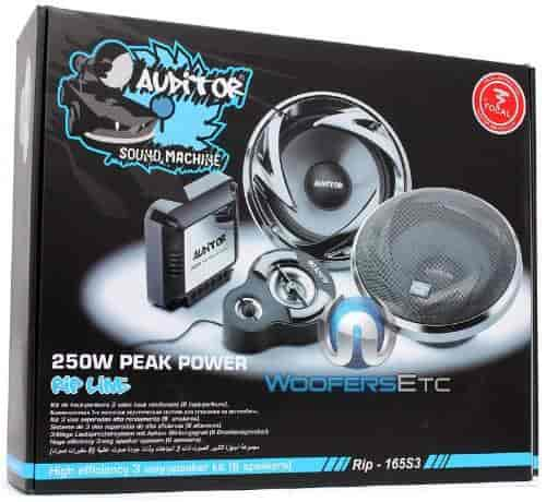 FOCAL-AUDITOR-RIP-165S3-6-5-3-Way-250W-Component-Speakers-(120W-RMS)