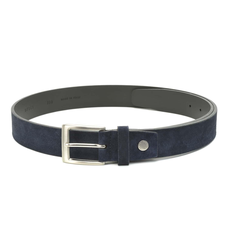 Buy Fratelli Rossetti Men 120 cm Belts Marine Blue  97119 , Features ... 2f27aa2c109