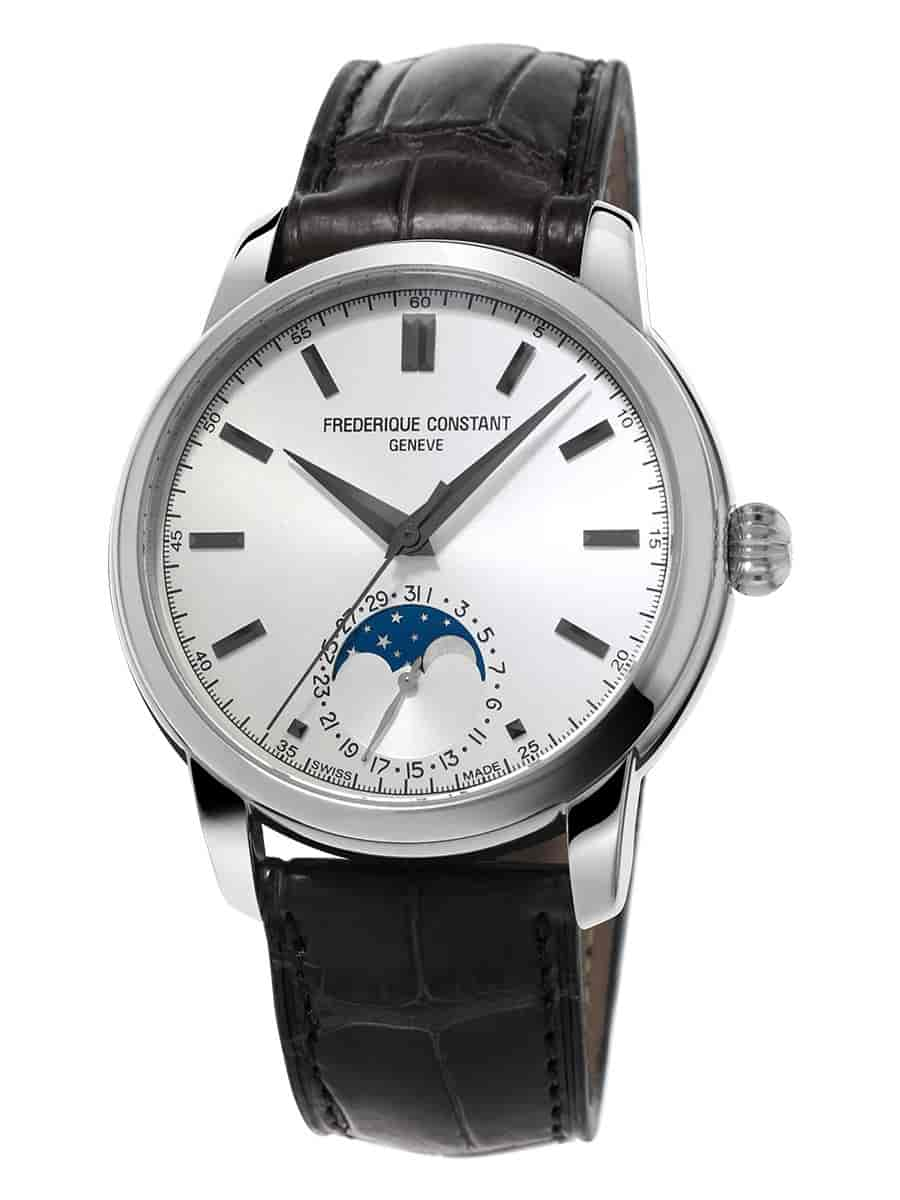 Đồng hồ Frederique Constant - Classic Moonphase phiên bản cạy đáy new 100%