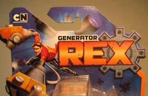 Buy Generator Rex 4 Inch Action Figure Battle Saw Rex Other