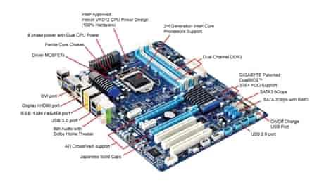Gigabyte GA-H67A-D3H-B3 Disk Mode Switch 64 Bit