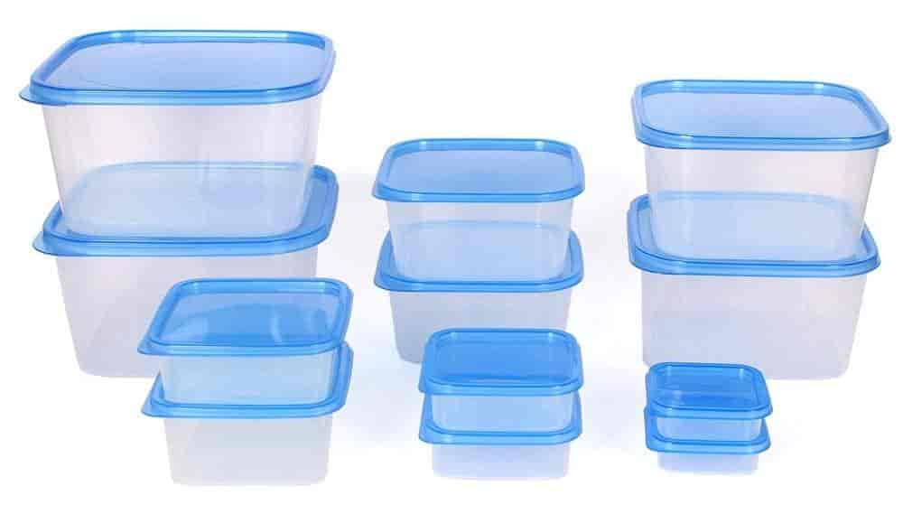 Buy Gluman 12 Pcs Set of Plastic Kitchen Storage Container Box