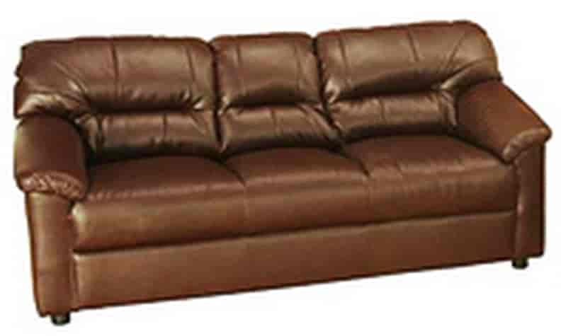 Genial Godrej Interio Rio 3 Seater Synthetic Leather Sofa