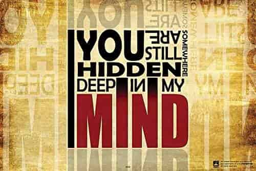 Buy Hidden Deep In My Mind Motivational Quotes Poster For Home And Extraordinary Exide Motivational Quotes