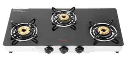 Hindware Neo Gl 3b Gas Stove Black