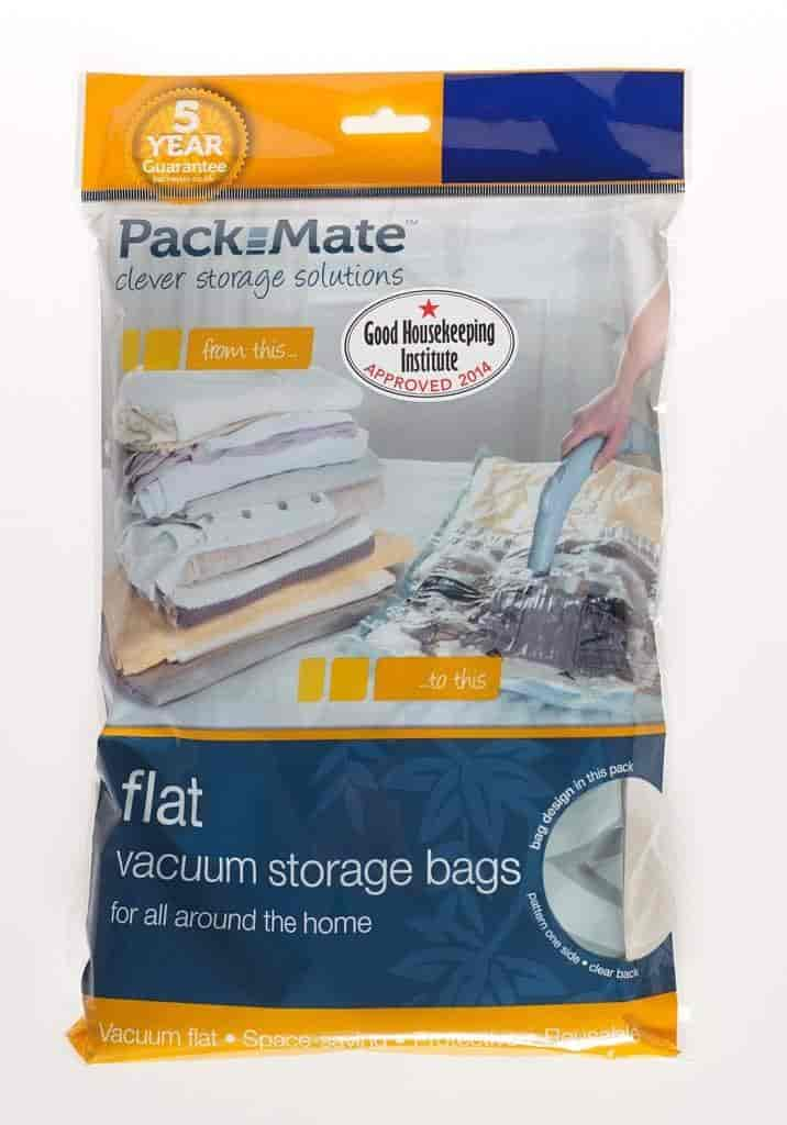 Howards Pack Mate E Bag Flat Vacuum Storage For Clothes Extra Large