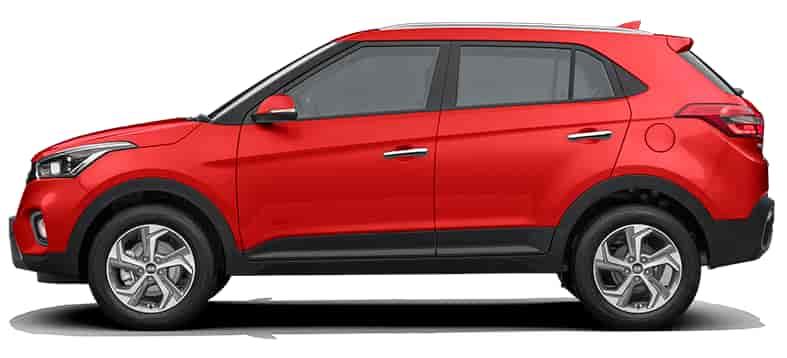 Buy Hyundai Creta 1.6 E Plus BS6 - Diesel (Fiery Red), Features ...