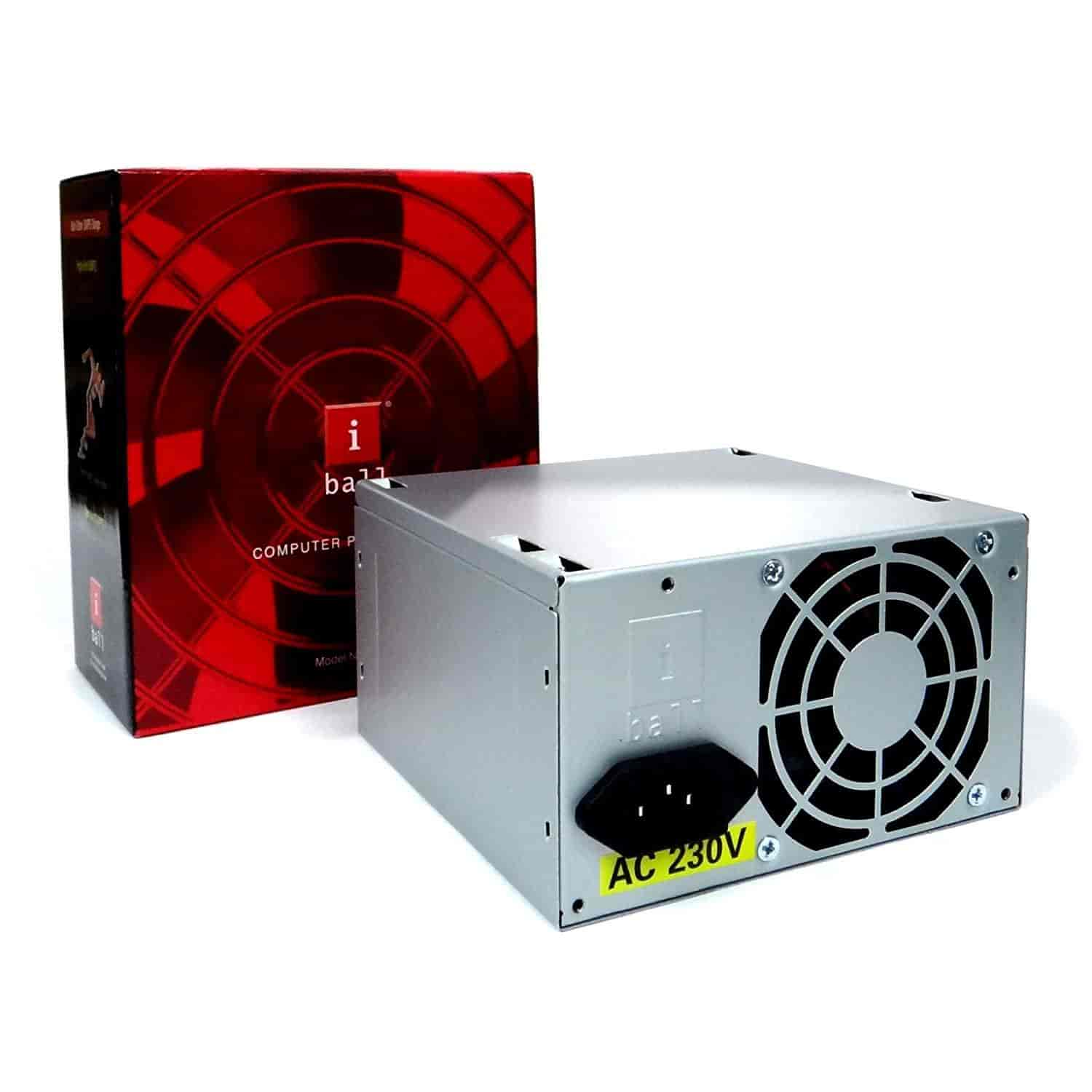 Buy iBall 450W SMPS ATX Computer Power Supply (ZPS-290), Features ...