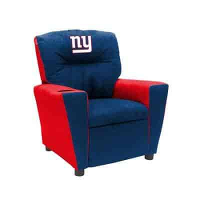 Youth Fan Favorite Microfiber Recliner Imperial Officially Licensed NFL Furniture
