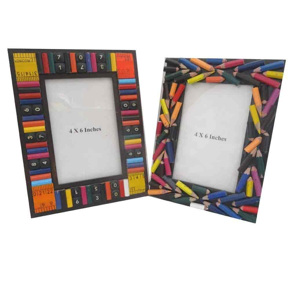 Buy Indian Photo Frames Hand Crafted Picture Home Decor Pencil Color ...