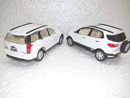 Buy Indian Toy Models Of Ecosport Xuv500 In White Color Centy
