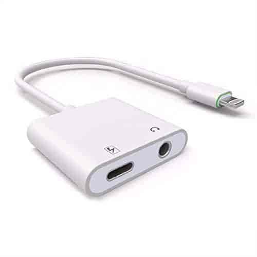 Buy IPhone 7 Headphone Adapter Plus Audio Charge Earphone 2 In 1 Lightning 35mm Cable