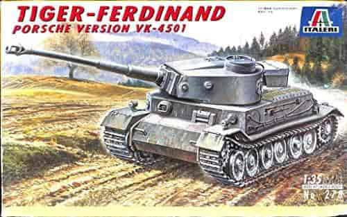 tiger ferdinand porsche version vk4501