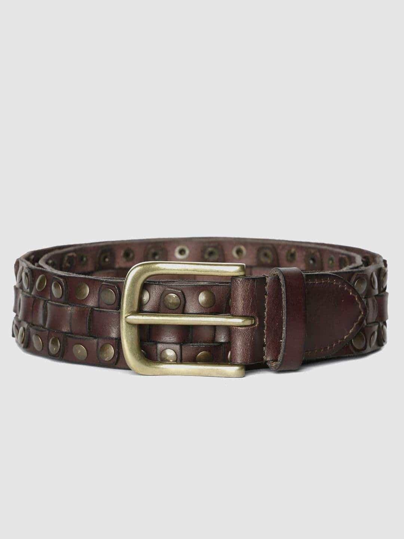 Jack /& Jones Mens Leather Jeans Belt Black Size L