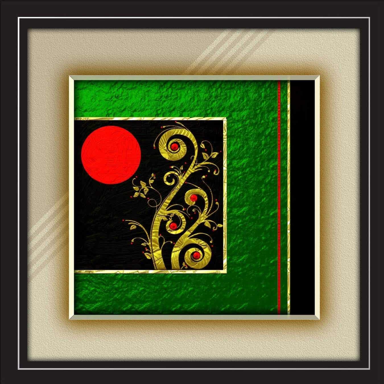 Buy Jay Ganesh Frames, Digitally Printed Classic, Creative And ...