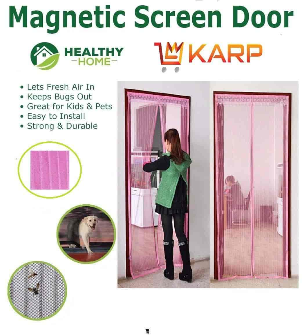 Buy Karp Magnetic Stripe Anti Mosquito Bug Divider Curtains Prevent