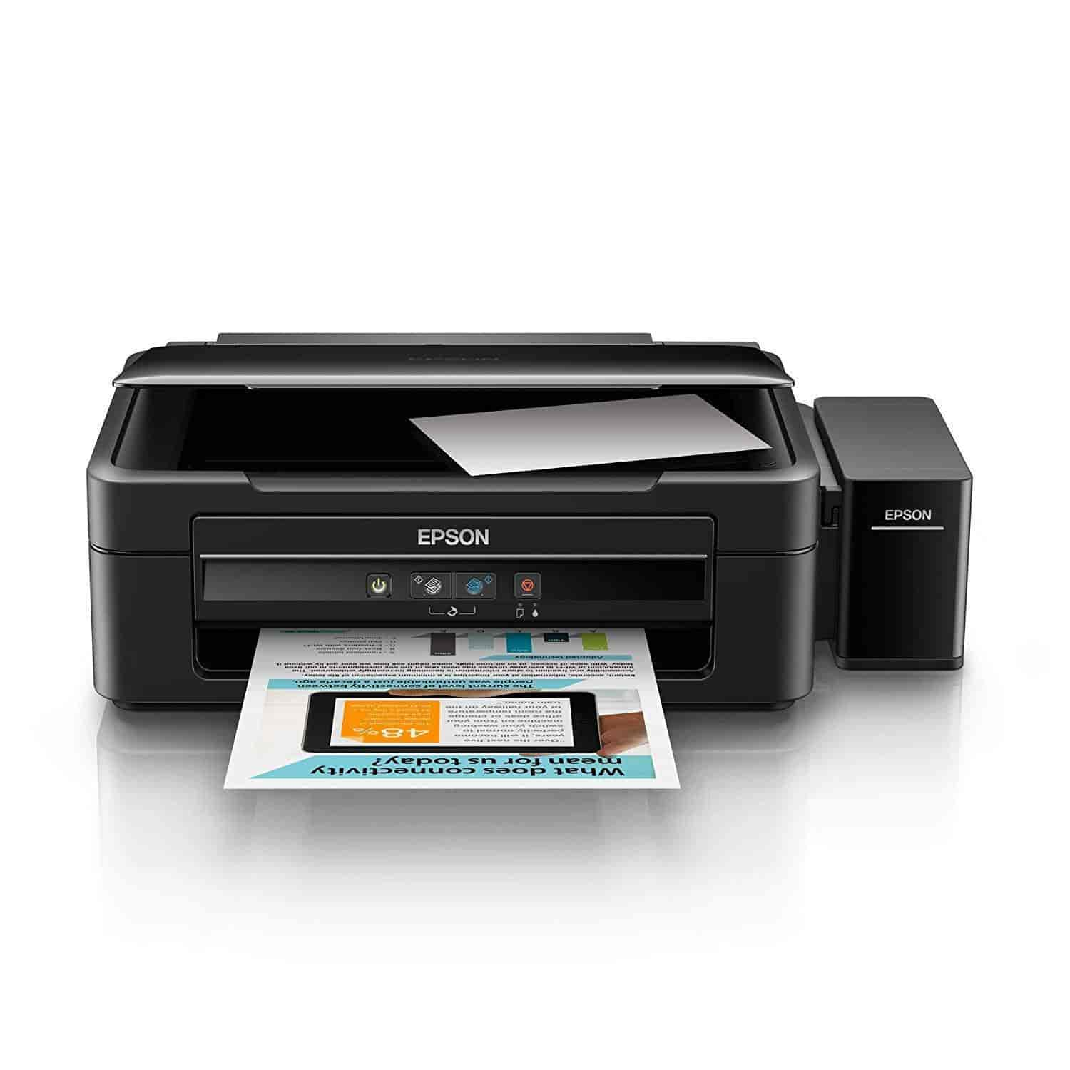 Epson L360 Multi-Function Color All In One Printer (Black)