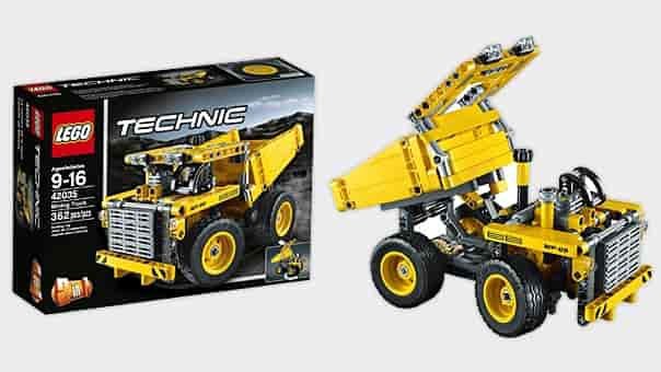 Buy Lego Technic Mining Truck [42035], Features, Price, Reviews ...