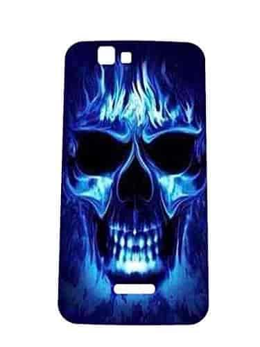 Letz-Dezine-Ghost-Printed-Design-Mobile-Back-Case-Cover-for-Karbonn-Titanium-K9-Smart
