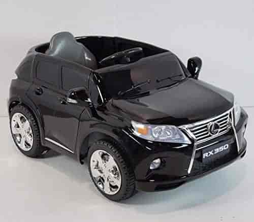 Buy Lexus Rx350 Black Battery Operated Ride On Car Toy With Remote