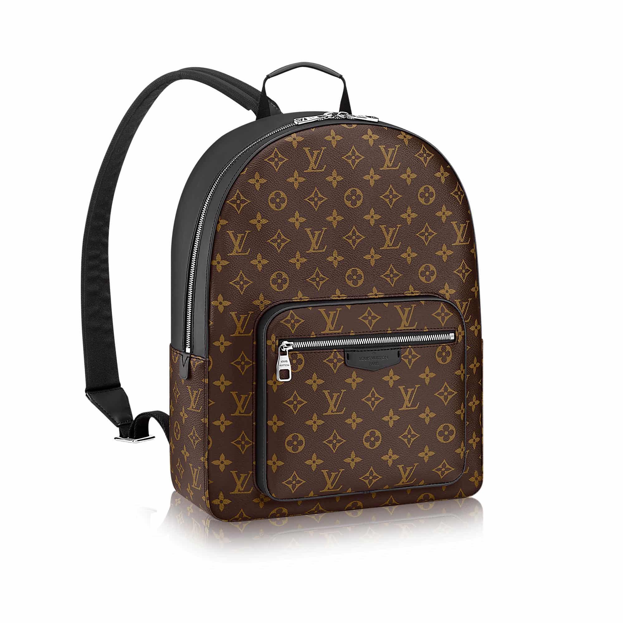 Louis Vuitton Men Josh Monogram Macassar Canvas M41530