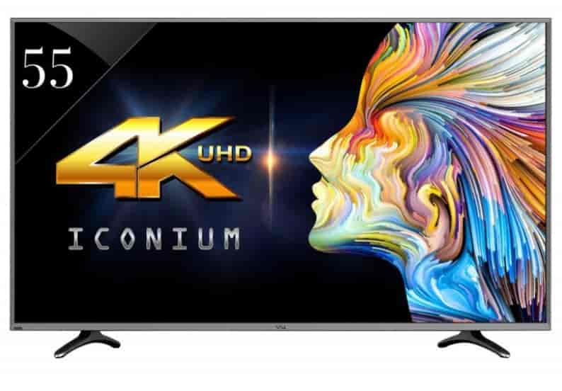 Vu VU55XT780 140 Cm 55 Inches 4K Ultra HD LED Smart TV Black