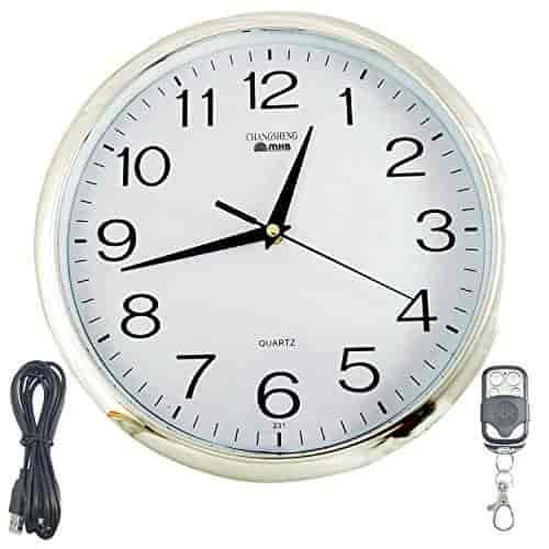 Buy M MHB HD Quality Wall Clock Hidden Spy Camera Wireless Security