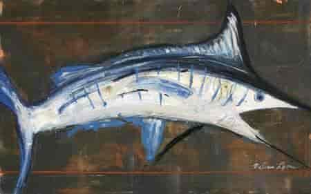 buy marlin by lyons melissa fine art print on canvas 37 5 x