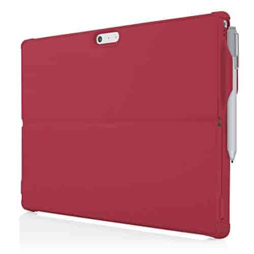 Microsoft-Surface-Pro-4-Case-Incipio-Ultra-Thin-Snap-On-Case-feather-HYBRID-Case-for-Microsoft-Surface-Pro-4-Red