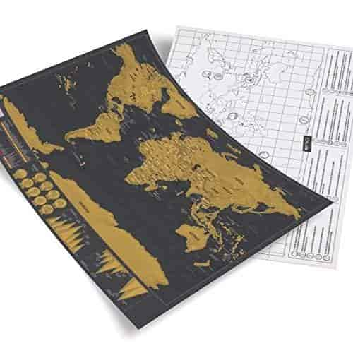 Buy Mini Scratch Map In X In Map Of The World Scratch - Buy wall map of the world