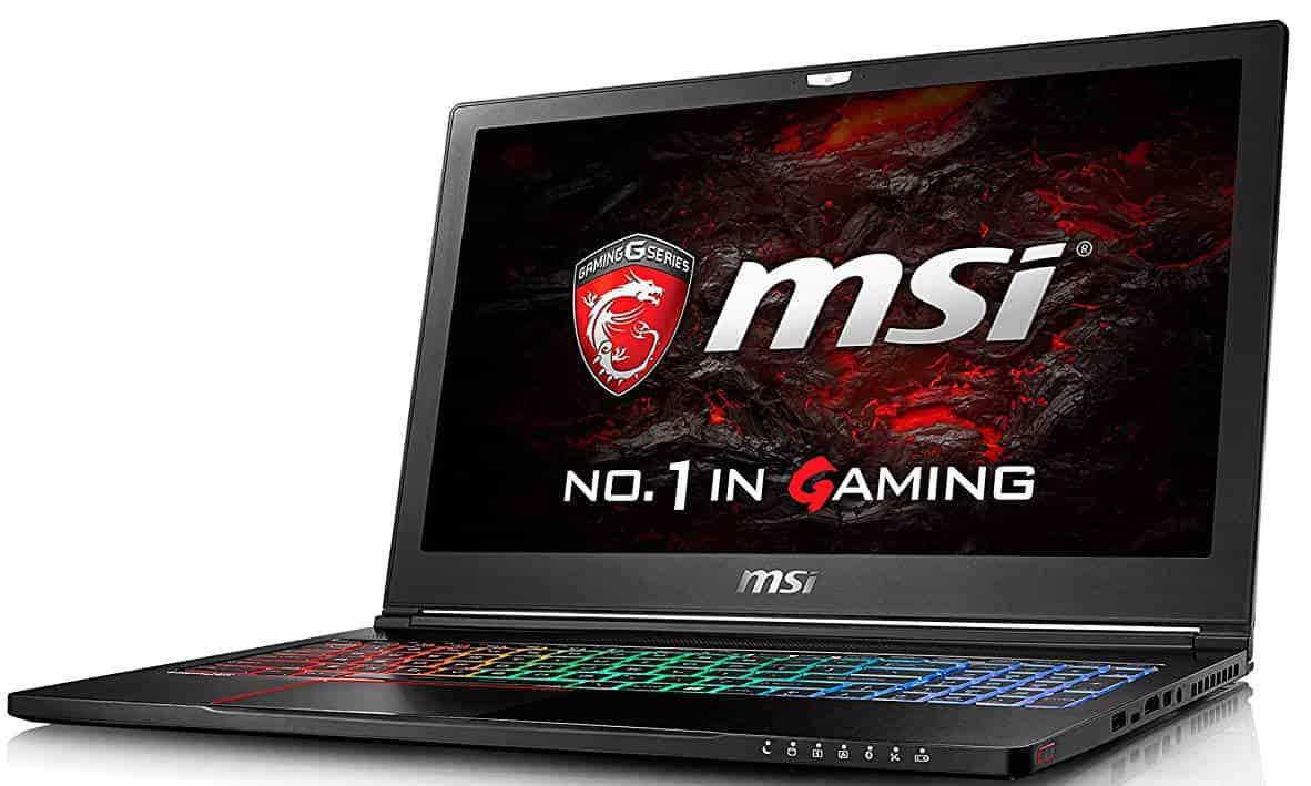 msi laptop gtx 1060 i7