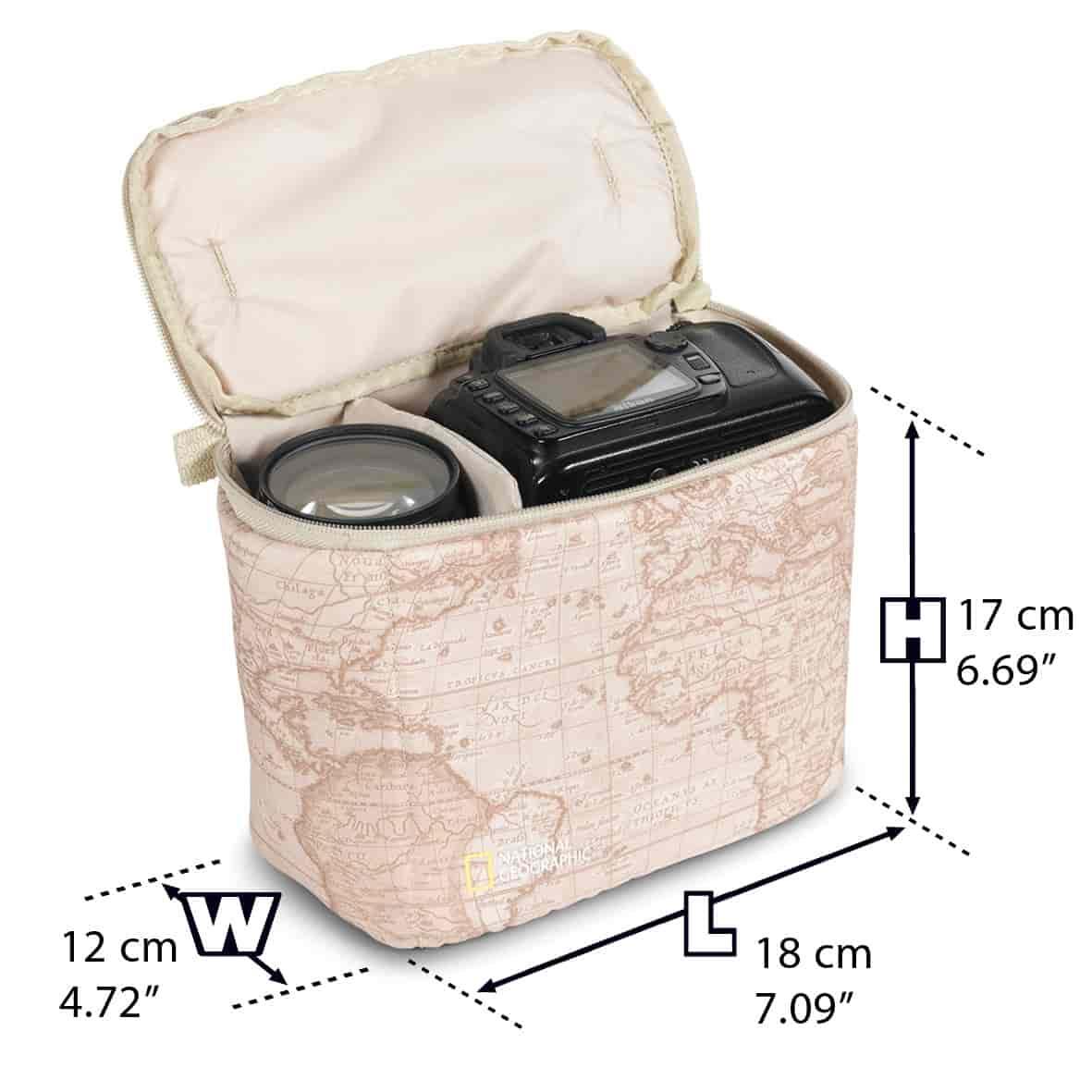 Buy National Geographic Camera Shoulder Bag Ng 2346 Features Tas Kamera Messenger Honx 008 Khaki