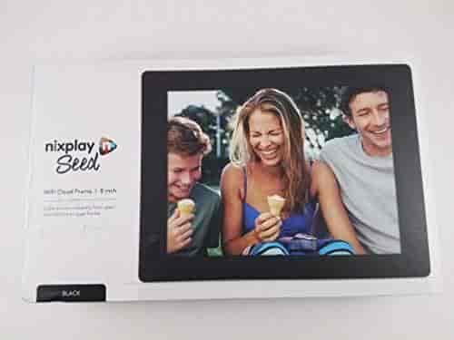 Buy Nixplay Seed W08d 8 Wifi Digital Photo Frame Black Features