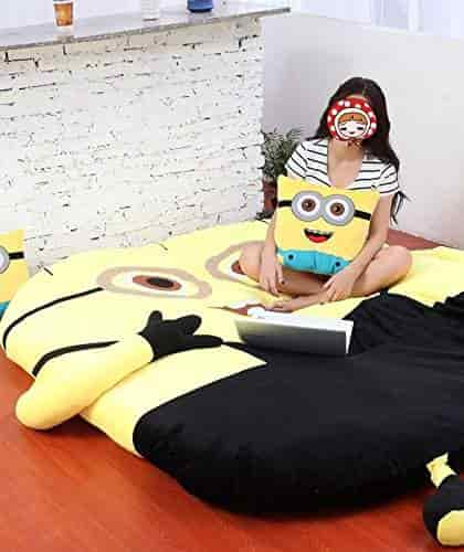 Norson Deable Me Minions Sleeping Bag Sofa Bed Twin Double Mattress For Kids