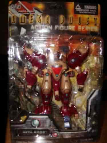 Buy Omega Boost (Beta Boost) Action Figure Series, Features